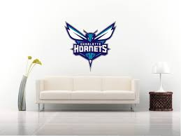 wall decals stickers home decor home furniture diy charlotte hornets nba logo wall car van sticker decal art 5 size basketball