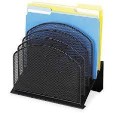 wire mesh desk organizer safco onyx wire mesh desktop organizer servmart