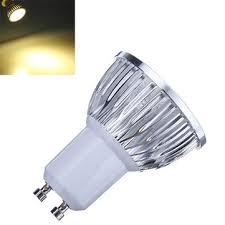 dimmable gu10 6w 540lm warm white light led spot bulb 220v us 3 66