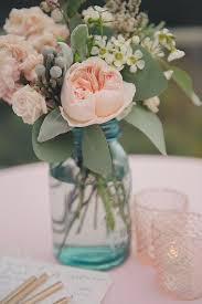 Mason Jar Floral Centerpieces The 25 Best Pink Mason Jars Ideas On Pinterest Pink Decorations