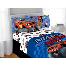 blaze and the monster machines sheet set walmart com