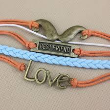 hand woven bracelet images Bestfriend love beard infinity hand woven bracelet fashion jpg