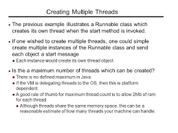 Good Thread Count Multithreading The Objectives Of This Chapter Are Ppt Video