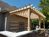 Wall Pergola Kits by Attached To Home