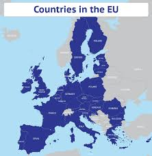 map of the countries editable vector map of eu countries 2013 maproom