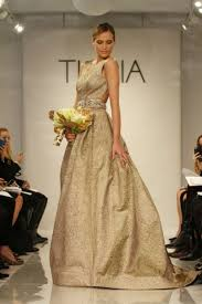gold wedding dresses 23 fabulous gold wedding dresses weddingomania