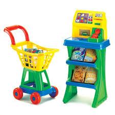 Toy Kitchen Set Food American Plastic Toys My Very Own Shop N U0027 Play Market Set 20010