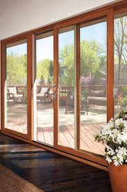 Wood Sliding Glass Patio Doors Glass Wood Sliding Patio Doors By Marvin Windows And Doors
