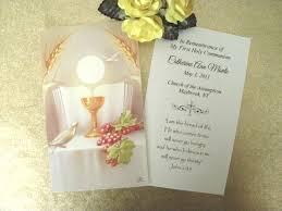 italian communion favors communion favor prayer cards holy eucharist fratelli bonella