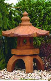 bamboo pagoda asian garden statue