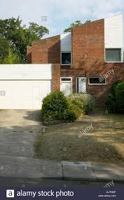 House With Garage Housing Kingston Upon Thames Surrey Half Brick Half Timber Clad