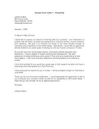 Ideas Collection Sample Internship Cover Resume Cover Letter Hotel Management Mediafoxstudio Com