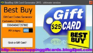 best gift card best buy gift card generator 2013