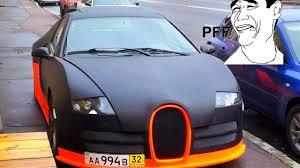 fake ferrari fail top 10 worst car replica ugly body kit bugatti civic skyline