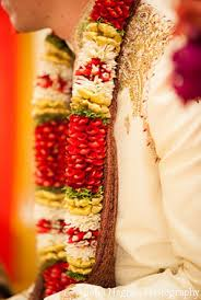 flower garlands for indian weddings indian wedding tradtional customs groom fusion indian wedding