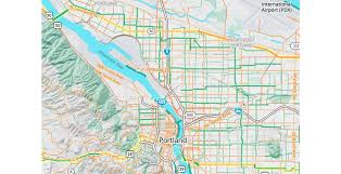 Portland International Airport Map by Bike To Work With Mapzen U0027s Updated Bike Map Mapzen