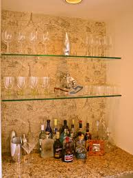 Diy Bar Cabinet Clear Tempered Glass Wall Mounted Liquor Shelves Of Awesome Diy