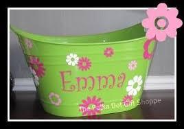 personalized buckets personalized buckets from polka dot gift shoppe in flowery branch