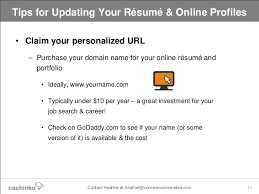 Check Resume Online by Still Job Searching Tips For Updating Your Online Resume U0026 Profiles