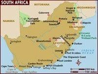 xmaps for africa south africa labor unrest in mining industry to negatively impact