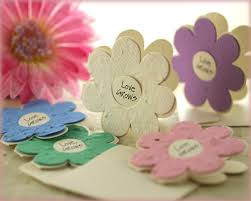 seed paper wedding favors beautiful sustainable wedding favors the
