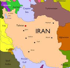 map iran map flag and seal of iran