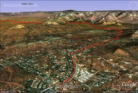 Sedona Map Sedona Marathon U2014 Atra