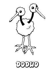 doduo coloring pages hellokids com