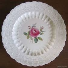 spode s billingsley jewels roses and plates on