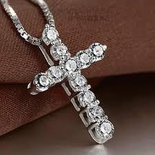 silver cross necklace pendants images Best sterling silver cross necklace men products on wanelo jpg