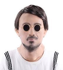 Psy Halloween Costume Lubber Man Halloween Costume Latex Human Head Mask Party Salt