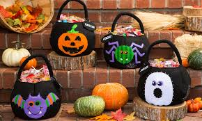 custom halloween led treat bag groupon goods