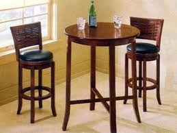 High Top Kitchen Table And Chairs Round Bar Tables And Stools Challiman Round Bar Table 3d Model