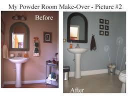 Powder Room Makeover Download Powder Room Makeovers Monstermathclub Com