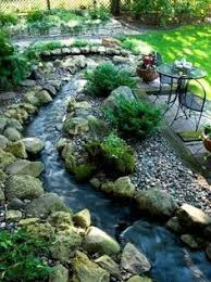 Small Backyard Water Features by Lands End Garden Love The Rock Placement Ingenious Favorite