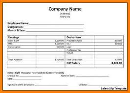 salary receipt template 8 employee salary details format cashier resumes