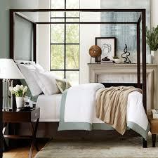 Williams Sonoma Bedding Designer Love Canopy Bed