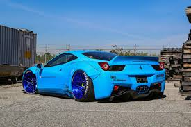 ferrari 458 liberty walk dub magazine goldrush rally liberty walk ferrari 458 italia video