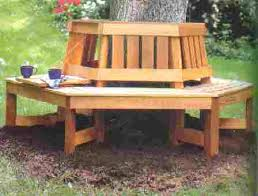wrap around tree bench with fold down tray 33105 u s 8 99