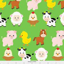 Farm Animal Nursery Decor Farm Animals Fabric Farm Animals By Sunshineandspoons Baby