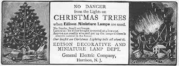 companies that put up christmas lights who invented electric christmas tree lights rhapsody in books weblog