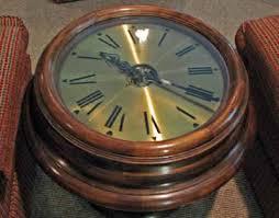 Clock Coffee Table by Walking Prescott Coffee Table Clocks