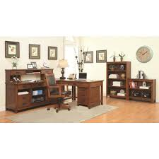 maclay l shaped desk with file cabinet printer drawer and