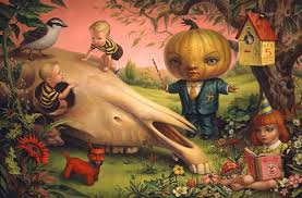 betweenmirrors com alt art gallery mark ryden king of pop