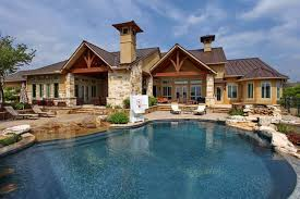 home with pool swimming pools by stadler custom homes traditional pool