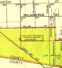 map of pomona california abandoned known airfields california east los angeles area