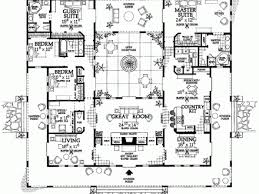 spanish style house plans with interior courtyard hacienda style house plans internetunblock us internetunblock us