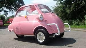 Light Pink Car Bubble Car Retro To Go