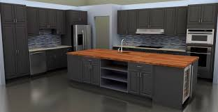 apartments engaging stylish and cool gray kitchen cabinets for
