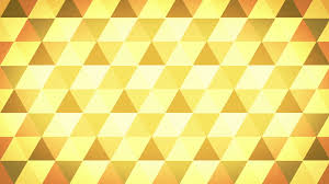 golden orange color abstract background of golden triangles in a geometric pixelated